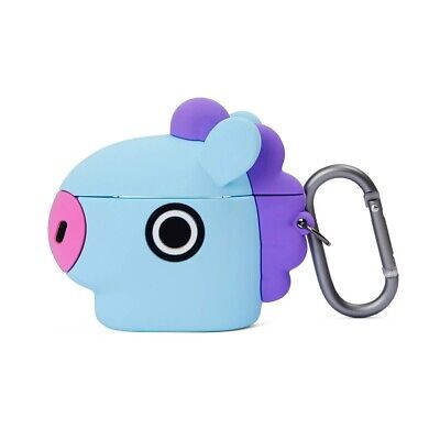 LINE FRIENDS BT21 Basic Case MANG for AirPods 1 & 2 w Keyring Official Goods BTS