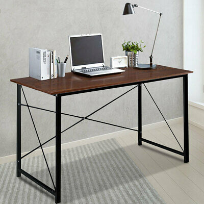 Modern Computer Desk Wooden Laptop Pc Table Study Workstation Home Office