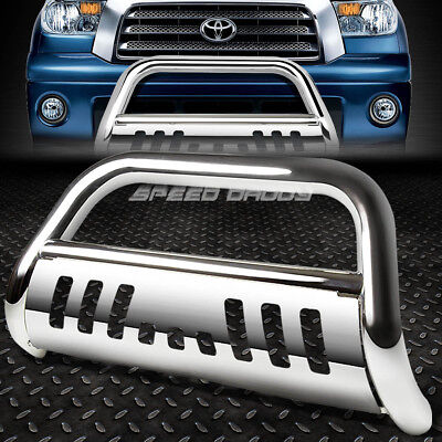 - FOR 07-16 TOYOTA TUNDRA/SEQUOIA STAINLESS STEEL BULL BAR PUSH BUMPER GRILL GUARD