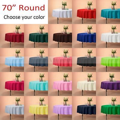 70 Round Tablecloth (VEEYOO 70