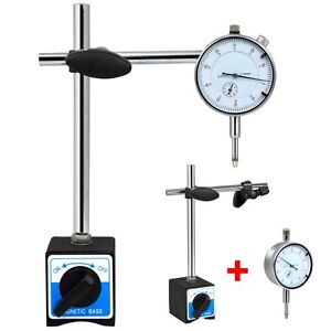 METRIC DTI DIAL INDICATOR TEST GAUGE & STAND WITH MAGNETIC BASE PRECISION CLOCK