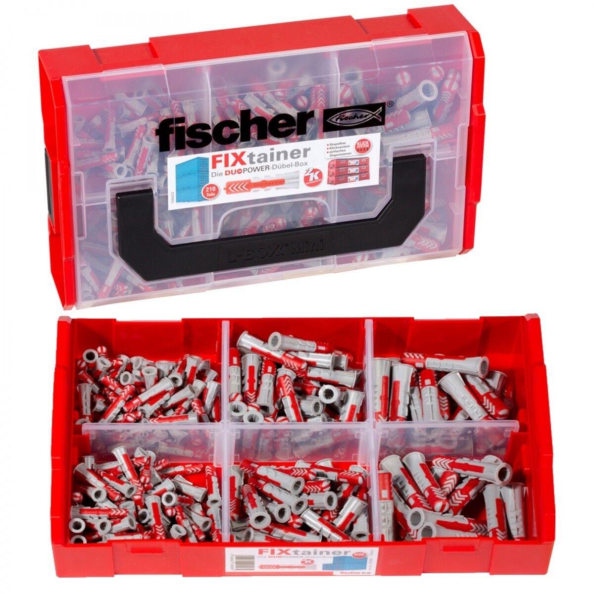 Fischer Dubel Duopower Fixtainer Sortimentsbox