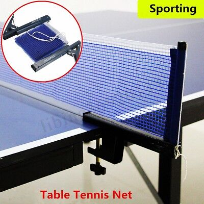 Table Tennis Ping Pong Net Indoor Game Post Clamp Stand Set Training  Replacement 5970a526ecfc0