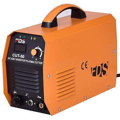 Cut-50 Electric Dc Inverter Air Plasma Cutter Igbt 50a 220v Cutting Machine New