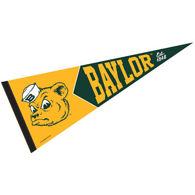 Baylor University Vault, Retro and Vintage Logo (Retro Pennant)