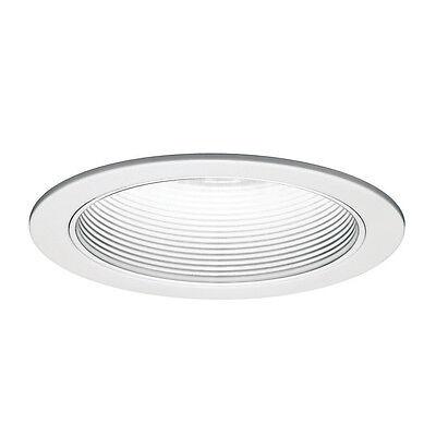 WAC Lighting R-620-WT/WT R600 Series White Trim Step Baffle (package of -