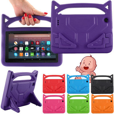 For Amazon Kindle Fire 7 7th Gen 2017 Tablet Case Kids Shockproof Kickstand  (Amazon Amazon Kindle Kids)