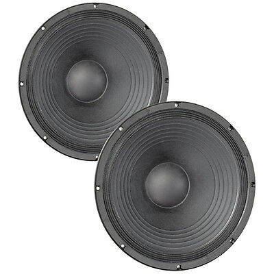 "Pair Eminence Kappa Pro-15A 15"" Sub Woofer 8 ohm 101dB 3""VC Replacement Speaker"