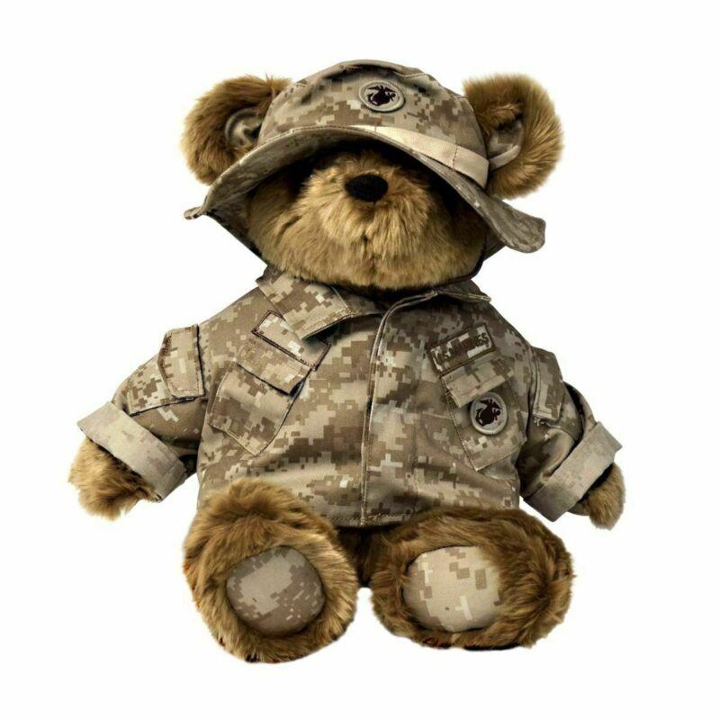 US Marine Corps (USMC) Desert Camo 12in Large Teddy Bear