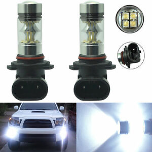 H10 Light Bulb: 2x H10 9145 100W High Power CREE LED Fog Light Bulb 6000K HID White Driving  Lamp,Lighting