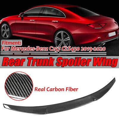 Echte Carbon Fiber Heckspoiler Heckflügel für Mercedes C257 CLS450 2019-2020