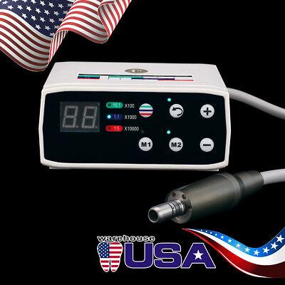 Us Dental Led Brushless Electric Micro Motor Internal Spray Fit Nsk 1115161