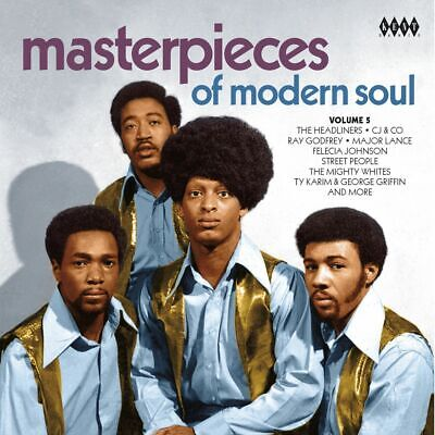 """MASTERPIECES OF MODERN SOUL VOL. 5 """"70's SOUL FROM THE VAULTS"""" 24 TRACKS CD"""