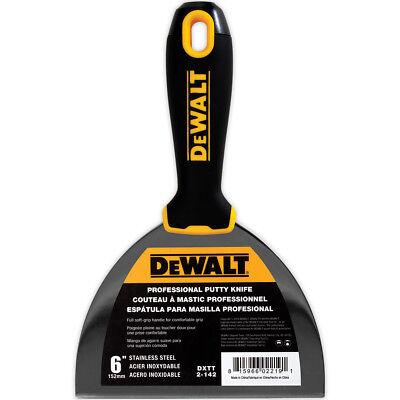 Dewalt Putty Knife 6 Stainless Steel Flexible Drywall Joint Paint Scraper