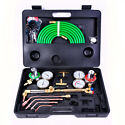 Goplus Gas Welding Cutting Kit W/Hose