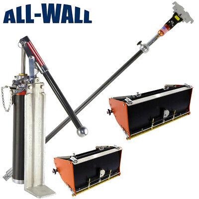 Drywall Master High Capacity 810 Flat Box Set With Pump Filler Box Handle