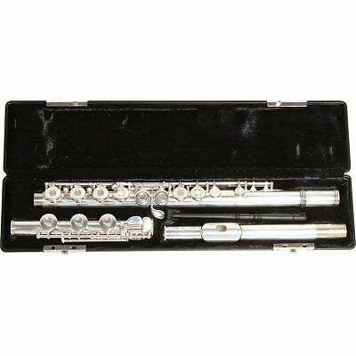 Gemeinhardt Model 3OB Flute, Open Hole, Offset G, B-Foot, Silver (Gemeinhardt Model 3 Flute Offset G B Foot)