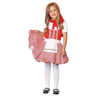 Little Red Riding Hood Costume Kids Halloween Fancy - Halloween Little Red Riding Hood Kids