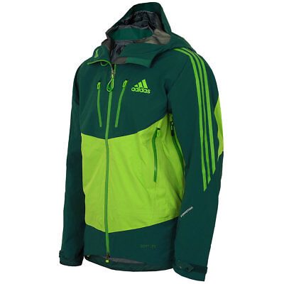 adidas Herren Terrex Icefeather Jacke Gore-Tex Pro Outdoor Jacket grün