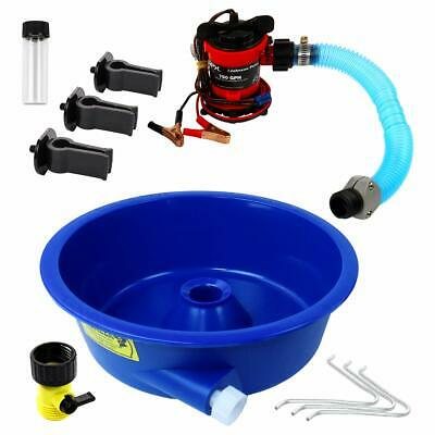 Blue Bowl Concentrator Kit With Pump Leg Levelers Vial - Gold Mining Equipment