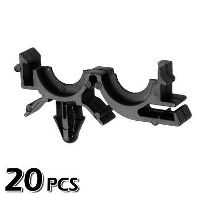 20x Nylon Wire Loom Routing Split Harness Conduit Clip for Buick LeSabre 00-02
