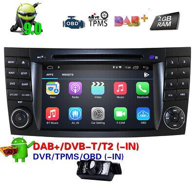 DAB+Autoradio für Mercedes Benz E/G/CLS Klasse W211 W219 W463 Android 9.0 2+16GB