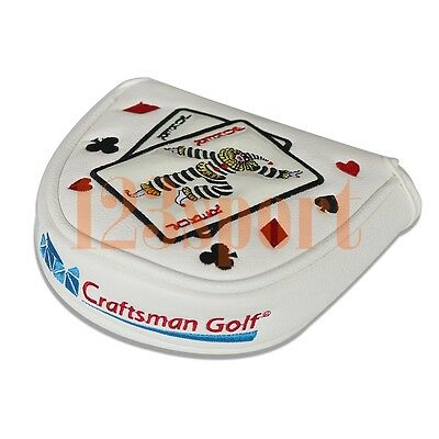 (USA Stock Magnetic Golf Mallet Putter Headcover for Center Shaft Odyssey 2Ball)
