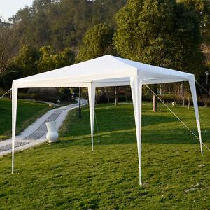10x10outdoor canopy party wedding tent garden gazebo for Garden tents