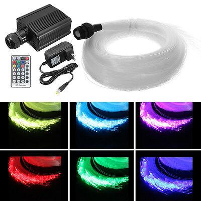 16W RGBW LED Fiber Optics Star Ceiling Light Kit 335Pcs 4M(0.75+1.0+1.5) Engine](Fiber Optics Led)