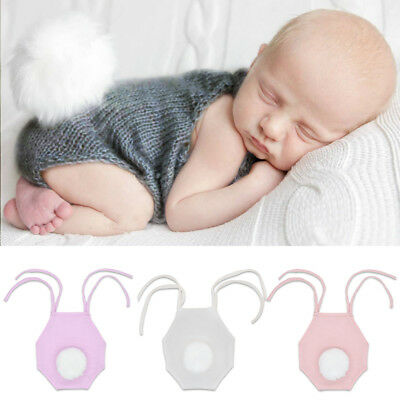 Newborn Baby Boy Girl Knit Rabbit Bunny Romper Photo Shoot Easter Costume Outfit - Baby Rabbit Costume
