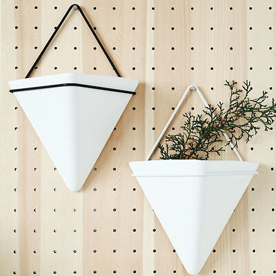 Wall Hanging Plant Pot Geometric Wall Decor Container Succulent Planter Vase Box ()