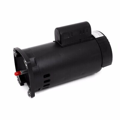 Square Flange Replacement Pool Pump Swimming Motor Frame Dual Voltage 1.5HP 56Y
