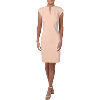 Lauren Ralph Lauren Womens Nadine Pink Sleeveless Cocktail Dress 2 BHFO 0665