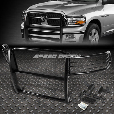 FOR 09-18 DODGE RAM 1500 PICKUP BLACK COATED MILD STEEL FRONT GRILL FRAME GUARD for sale  Rowland Heights