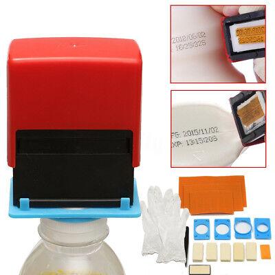 Mini Manual Handheld Printer Code Tool Coding Date Number Printing Machine Us