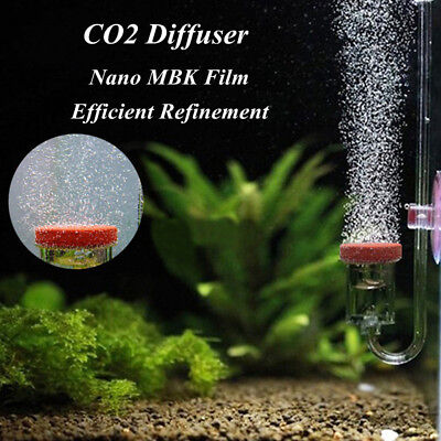 Co2 Tube - Acrylic U Shape Aquarium CO2 Diffuser Bubble Counter Glass Tube Fish Tank
