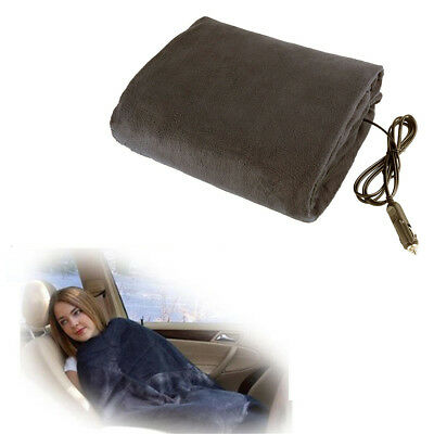 148x105cm 12V 45W Car SUV Truck RV Electric Heating Blanket Carpet Color Random