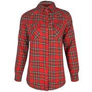 Vintage Oversized Checked Shirt