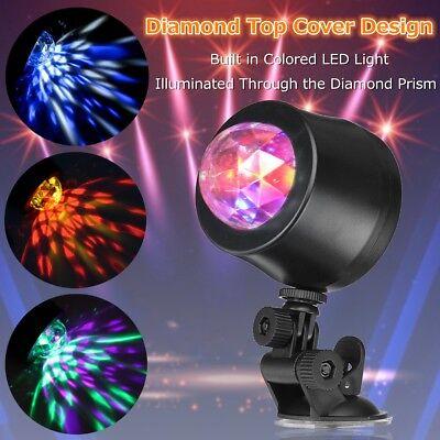 Car Music Rhythm 6LED RGB Sound Activated Interior Light Disco Flash Magic Ball ](Disco Balls Cheap)