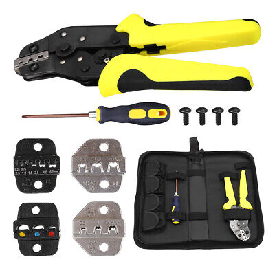 Crimping Tool Wire Crimper Plier Terminal Connectors Ratcheting For Electricity