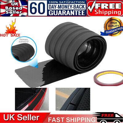 Car Rear Boot Bumper Sill Body Guard Protector Rubber Plate Trim Strip Cover