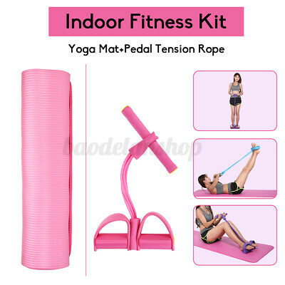 home fitness kits yoga mat and pedal