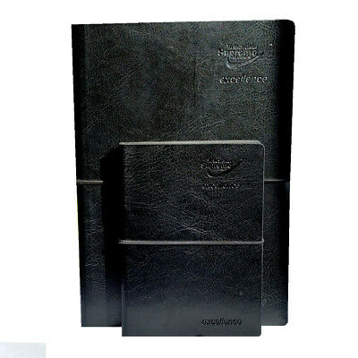 Executive Notebook 100 Sheets 200 Pages 100gsm Cream Plain Paper - A5 A6