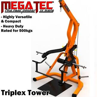 MEGATEC MT-TX-TW Triplex Tower Isolateral Arms Bench Press Gym