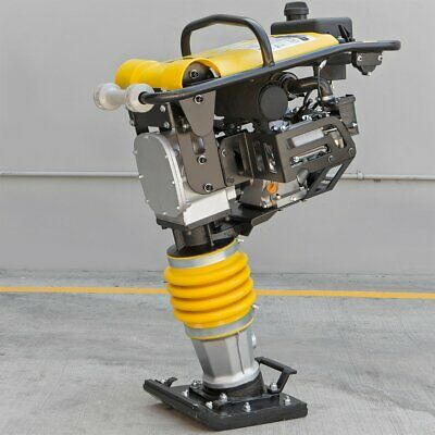6.5hp Tamper Rammer Gas Vibration Plate Compactor Jumping Jack Compaction