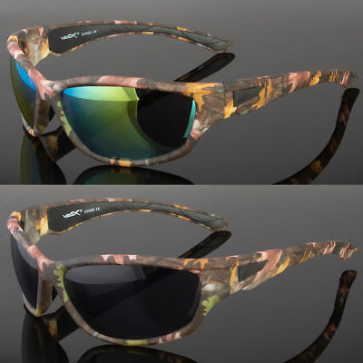 Camouflage Sunglasses (New Camouflage Sports Hunting Outdoors Sunglasses Duck Dynasty Camo)