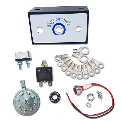 Electric Tarp Rotary Switch Kit for Dump Truck Tarp Systems 50 Amp (Electric Dump Truck)