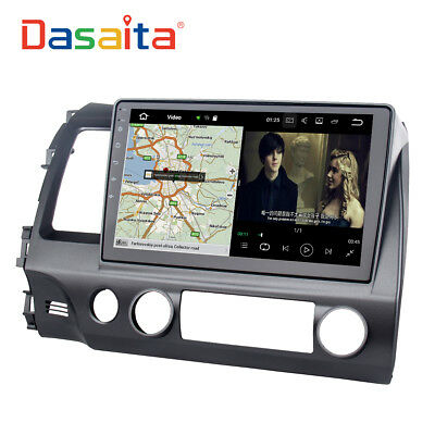 10 2 Car Video For Honda Civic Gps Android 7 1 Radio Player Motors Dash Stereo
