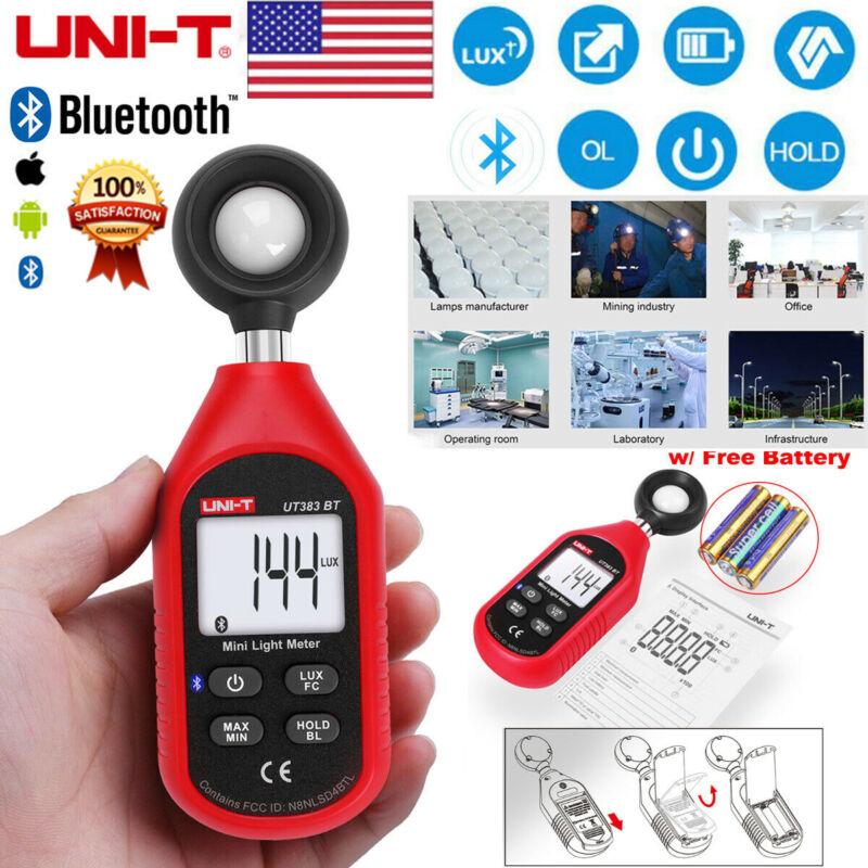 UNI-T UT383BT Mini Bluetooth Luxmeter Digital LCD Light Meter Digital Test Tool