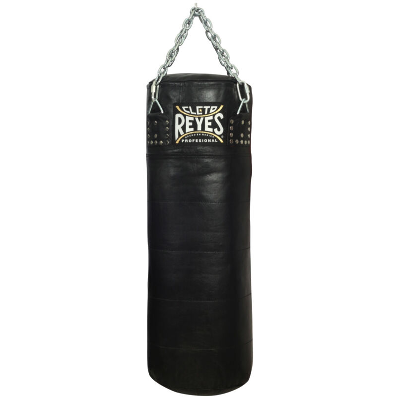 """Cleto Reyes Unfilled 36""""X15"""" Leather Heavy Punching Bag"""